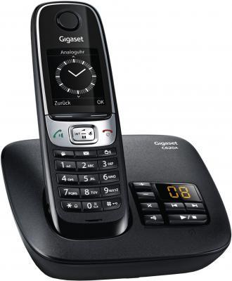 Радиотелефон DECT Gigaset C620A черный