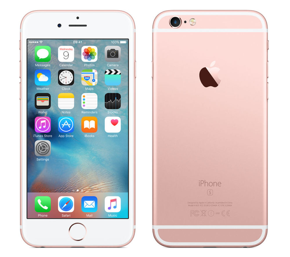 Сотовый телефон APPLE iPhone 6S - 16Gb Rose Gold MKQM2RU/A