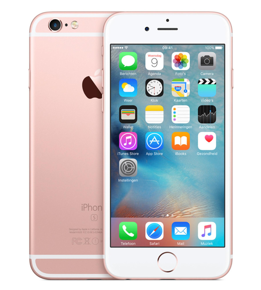 Сотовый телефон APPLE iPhone 6S - 64Gb Rose Gold MKQR2RU/A