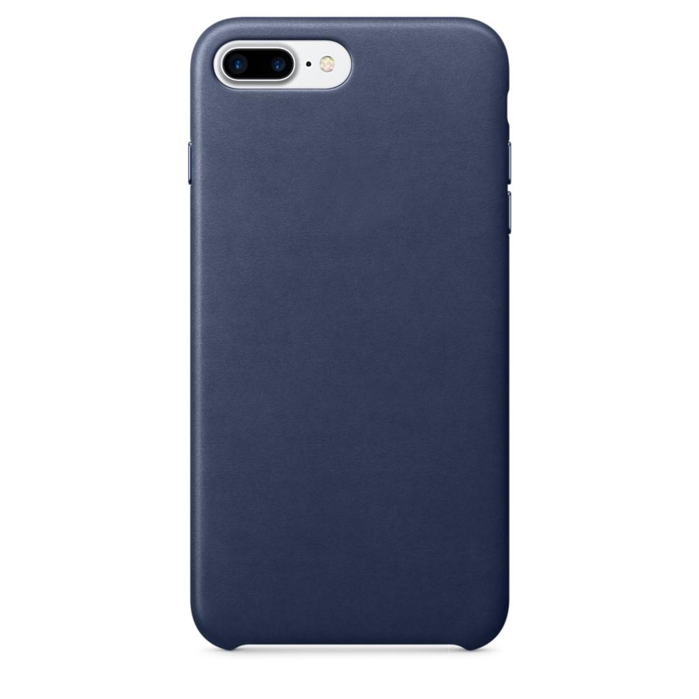 Аксессуар Чехол APPLE iPhone 7 Plus Leather Case Midnight Blue MMYG2ZM/A