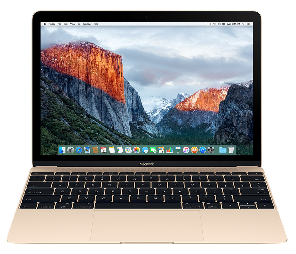 Ноутбук APPLE MacBook 12 Gold MNYK2RU/A (Intel Core m3 1.2 GHz/8192Mb/256Gb/Intel HD Graphics 615/Wi-Fi/Bluetooth/Cam/12.0/2304x1440/macOS Sierra)