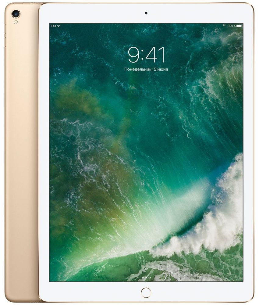 Планшет APPLE iPad Pro 2017 12.9 64Gb Wi-Fi Gold MQDD2RU/A