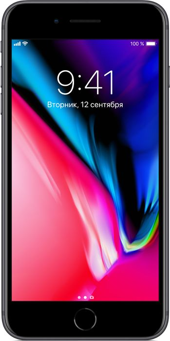 Apple iPhone 8 Plus 256GB (серый космос)